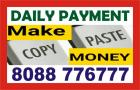 Hiring - Part time work from Home | Copy Paste Work | 1703 | Daily Payout